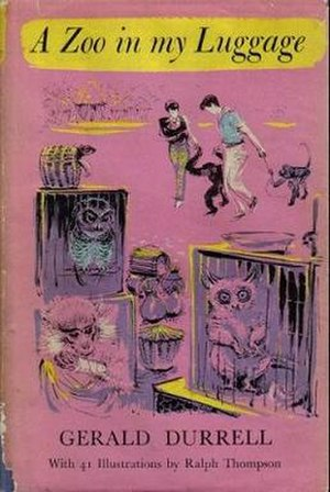 A Zoo in My Luggage - First edition (publ. Rupert Hart-Davis)