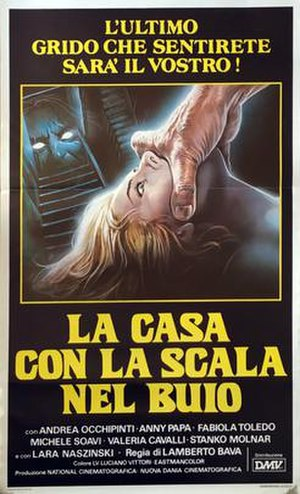 A Blade in the Dark - Italian theatrical release poster