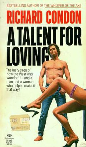A Talent for Loving - The cover of the 1978 Ballantine Books paperback edition.