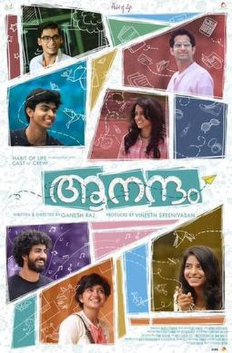 Aanandam - Official poster