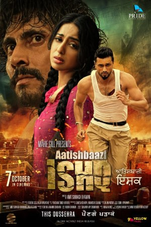 Aatishbazi Ishq - Theatrical release poster