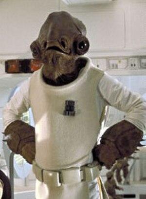 Admiral Ackbar - Admiral Ackbar in Return of the Jedi (1983)