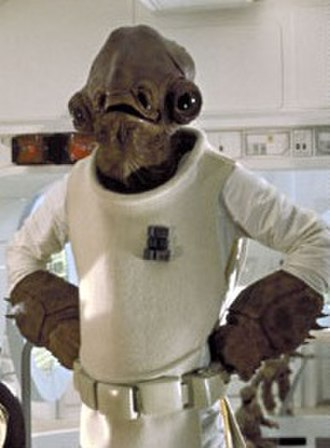 Admiral Ackbar - Admiral Ackbar in Return of the Jedi (1983)
