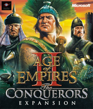 Age of Empires II: The Conquerors - Image: Age of Empires II The Conquerors Coverart