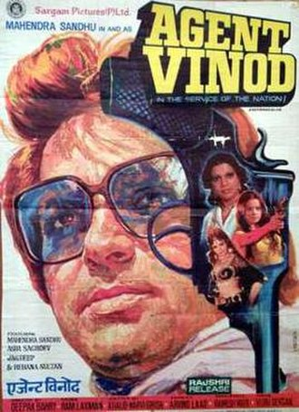 Agent Vinod (1977 film) - Image: Agent Vinod