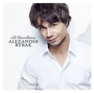 No Boundaries (Alexander Rybak album) - Image: Alexander Rybak No Boundaries (album cover)
