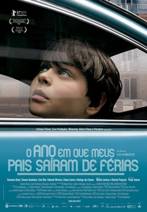 The Year My Parents Went on Vacation - Theatrical release poster