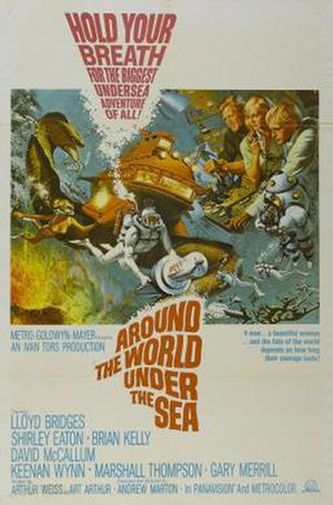 Around the World Under the Sea - Around the World Under the Sea film poster by Frank McCarthy