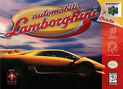 Automobili Lamborghini - North American box art