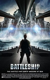 <i>Battleship</i> (film) 2012 military science fiction film by Peter Berg based on the board game of the same name