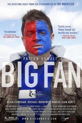 Big Fan - Theatrical release poster