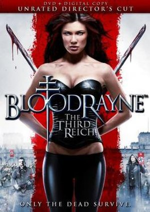 BloodRayne: The Third Reich - DVD cover