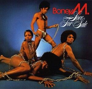 Love for Sale (Boney M. album) - Image: Boney M. Love For Sale (1977)