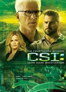 <i>CSI: Crime Scene Investigation</i> (season 14) Season of American television series CSI: Crime Scene Investigation