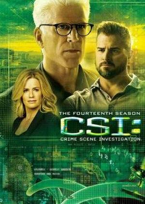 CSI: Crime Scene Investigation (season 14) - Season 14 U.S. DVD cover