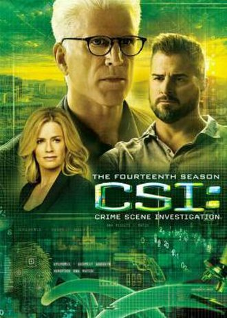CSI: Crime Scene Investigation (season 14) - Season 14 U.S. DVD cover