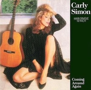 Coming Around Again (Carly Simon song) - Image: Carly Simon Coming Around Again