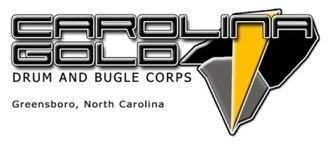 Carolina Gold Drum and Bugle Corps - Image: Cg logo reduced