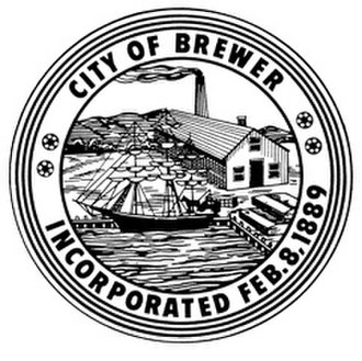 Brewer, Maine - Image: City Of Brewer Maine Seal