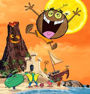 Coconut Fred's Fruit Salad Island - Main characters of the series.