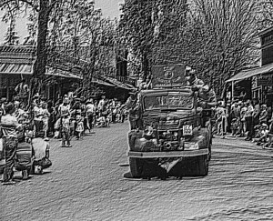 Columbia, California - A parade is part of the annual Columbia Fire Muster, in May.