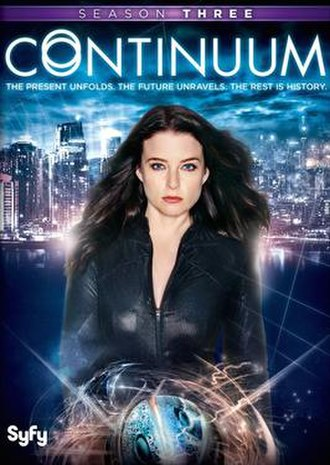 Continuum (season 3) - American DVD cover art