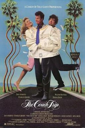 The Couch Trip - Theatrical release poster