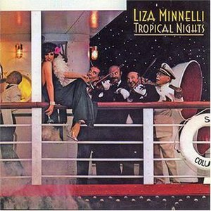 Tropical Nights (Liza Minnelli album) - Image: Cover Liza Minnelli Tropical Nights