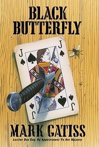 "Black Butterfly (novel) - Cover of ""Black Butterfly"""