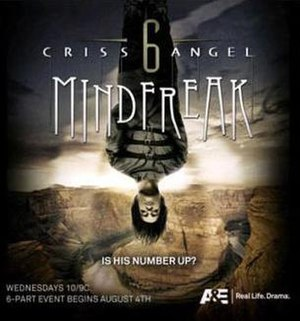 Criss Angel Mindfreak - Promotional poster for Season 6