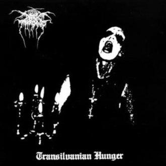 Transilvanian Hunger - Image: Darkthrone Transilvanian Hunger