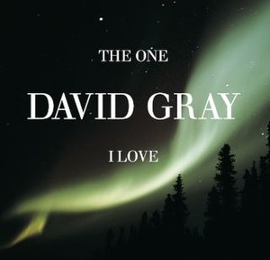 The One I Love (David Gray song) - Image: David Gray The One I Love CD 2