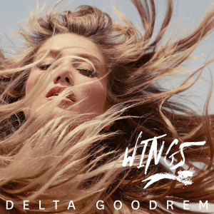 Wings (Delta Goodrem song) - Image: Delta Goodrem Wings (Official Single Cover)
