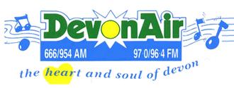 Heart Exeter and Heart Torbay - Image: Devonair logo