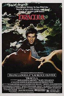 <i>Dracula</i> (1979 film) 1979 American/British horror film by John Badham