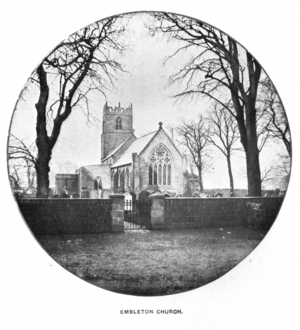Embleton, Northumberland - Image: Embleton Church 1
