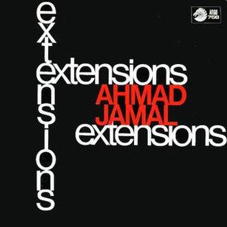 Extensions (Ahmad Jamal album) - Image: Extensions (Ahmad Jamal album)
