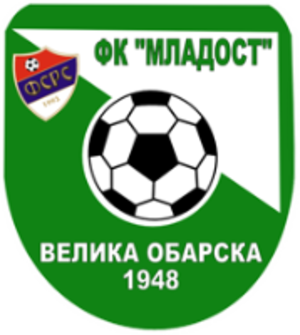 FK Mladost Velika Obarska - Image: FK Mladost Velika Obarska logo