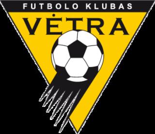 FK Vėtra association football club