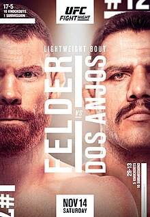 UFC Fight Night: Felder vs. dos Anjos Fight Poster