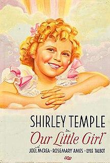 <i>Our Little Girl</i> 1935 film by John S. Robertson