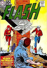 thumb The Flash (September 1961) Cover art by Carmine Infantino and Murphy Anderson