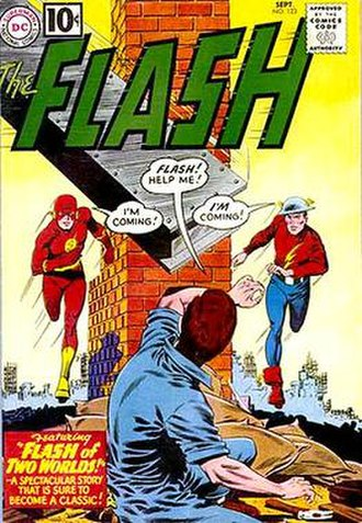 The Flash (comic book) - Image: Flash v 1 123