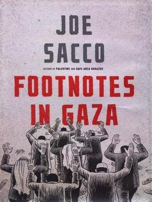 Footnotes in Gaza - Image: Footnotes in Gaza