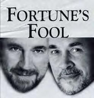 Fortune's Fool - Bates and Langella on the poster for the 2002 Broadway production