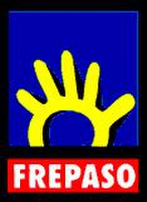 Front for a Country in Solidarity - Image: Frepaso logo