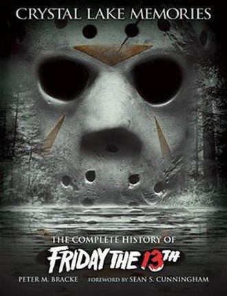 Friday the 13th (franchise) - Cover of Crystal Lake Memories: The Complete History of Friday the 13th, a book on the Friday the 13th franchise.