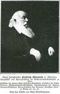 Friedrich Wannieck Austrian businessman