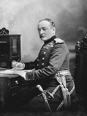 Edward Hutton (British Army officer) - Major General Edward Hutton c.1900