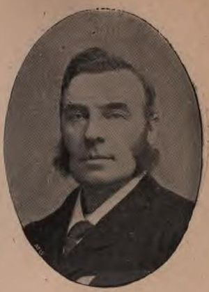 George Trout Bartley - Bartley in 1895.